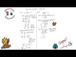 7th grade two step equations week15 pre algebra algebra w