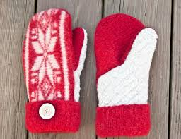 guest tutorial felted sweater mittens with printable pattern