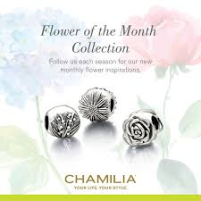 flower of the month club chamilia garden club april july charms addict