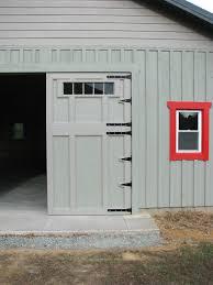 How To Build Barn Doors Sliding Garage Doors Sliding Garage Door For Shed Formidable Picture