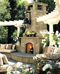 outdoor stone fireplace outdoor stone fireplaces outdoor fireplaces with pizza ovens
