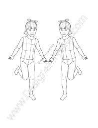 free fashion croquis 120 fashion figure templates