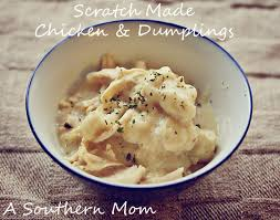 Homemade Comfort Food Recipes From Scratch Chicken And Dumplings Simple And Delicious Comfort