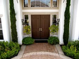 front entry contemporary landscape los angeles by gilson