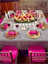 fuschia pink table cloth 142 best tablescapes pink indian weddings magazine images on