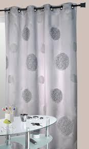 rideau de cuisine et gris rideaux cuisine gris finest rideau tamisant illets coton parement