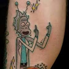 Bad Tattoo Meme - dr suess rick know your meme