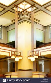 unity temple oak park illinois frank lloyd wright stock photo