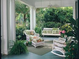 southern living home decor parties kick back on a pretty porch southern living