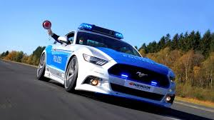 Germany U0027s New Ford Mustang Gt Police Car Looks Rad The Drive