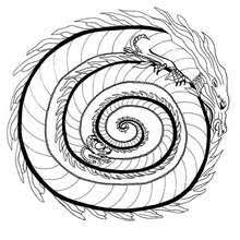 dragon mandalas coloring pages printable coloring pages
