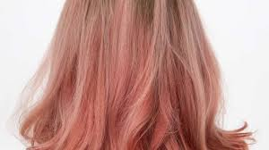 go for the rose gold the hottest hair color of the moment by l u0027oréal
