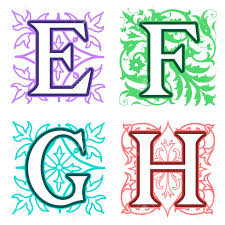 decorative alphabet letters best decoration ideas for you