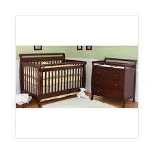 Convertible Crib Nursery Sets Nursery Smart Amelia 4 In 1 Convertible Crib Nursery Set In Cherry