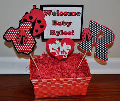 ladybug baby shower decorations bewildering on home decorating