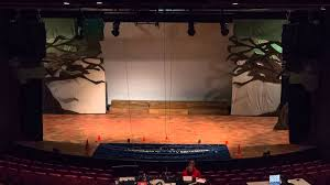 big fish a new broadway musical set installation timelapse
