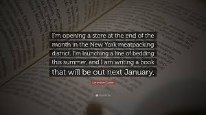 genevieve gorder genevieve gorder quote u201ci u0027m opening a store at the end of the
