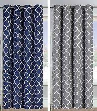 Moroccan Print Curtains Living Room Curtains Ebay