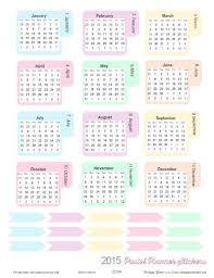printable 12 month planner 2015 fundación iberoamericana down21 google revistas mensuales