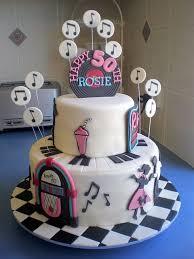 90 best 50 u0027s theme birthday cakes images on pinterest birthday