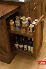 Slide Out Spice Racks For Kitchen Cabinets by 8 Best Unique Series By Cabico Images On Pinterest Cabinet