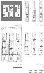 Floor Plan Furniture 29 Best Townhouse Floor Plans Images On Pinterest