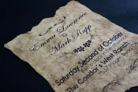 Vintage Wedding Invites Vintage Old Paper Wedding Invitation Project Geek 4 4 Steps