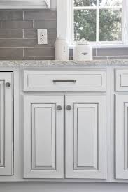 gray glazed white kitchen cabinets white with gray glaze base your room