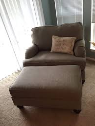 Oversized Chair With Ottoman Oversized Chair And Ottoman Like New For Sale In Tampa Fl
