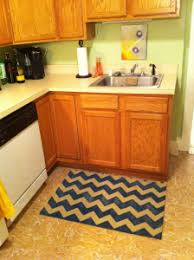 Diy Kitchen Rug Chevron Kitchen Rug Home Design Ideas And Pictures