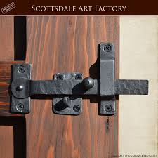 gate latch with lever could construct one out of wood what does