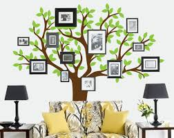 Home Design For Wall by Furniture Modern Tree Wall Decal In Black Bedroom Design Ideas