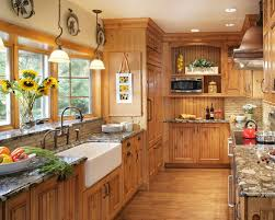 Faux Finish Cabinets Kitchen Faux Finish Knotty Pine Cabinetry Houzz