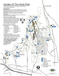 Colorado National Parks Map by Garden Of The Gods Park Visit Colorado Springs
