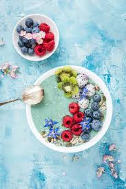 this mermaid smoothie bowl recipe is almost too pretty to eat