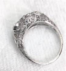 restoration of antique jewelery antique ring restoration story filigree hearts re made