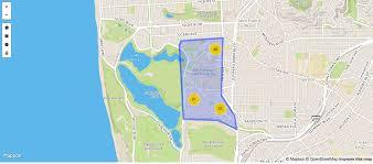San Jose Crime Rate Map by April U2013 2017 U2013 Microsoft Bay Area