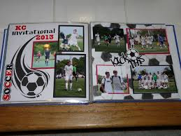 sports photo albums 17 best images about lasting memories on scrapbook