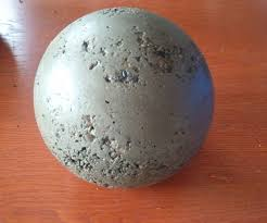 How To Make Homemade Concrete by Making Concrete Balls 6 Steps With Pictures