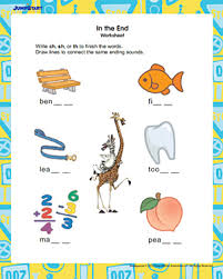 in the end printable english worksheet for 1st grade jumpstart