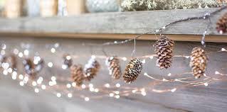 battery lighted fall garland christmas garlands