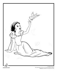 115 snow white coloring pages images 7 dwarfs