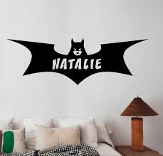 deer head wall decal mural antlers hunting wild animals removable personalized name batgirl wall decal superhero custom vinyl sticker decor btg10