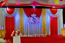 express free shipping wedding stage decoration wedding backdrop