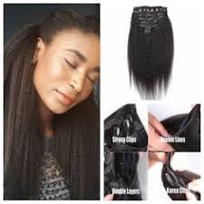 knappy clip in hair extensions krs hair group not so knappy clip in extensions 20 inch