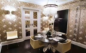 Chandelier For Dining Room Chandelier Imposing Dining Table Furnished With Cutlery Set