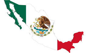 World Map Country Flags Clipart Mexico Flag Map