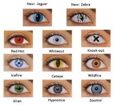 Color Blindness Contacts Halloween Contact Lenses Cool Contacts Lenses And Cat Eyes