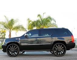 cadillac escalade with black rims wheels gianelle designs santorini ii black need 4 speed motorsports