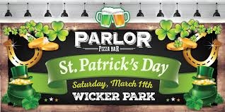 parlor st patrick u0027s day 2017 wicker park parlor pizza bar
